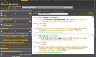 Base de questions - exploitation des métadonnées DDI